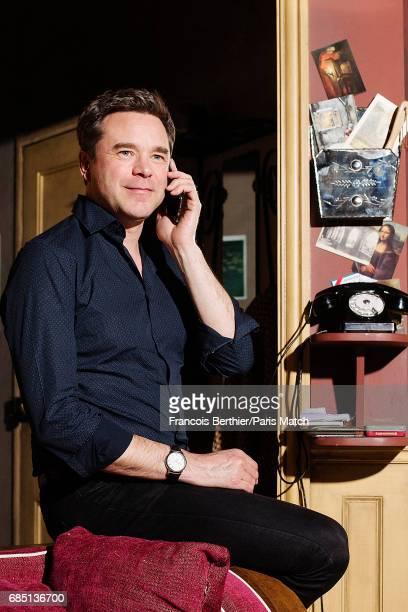 Actor Guillaume de Tonquedec is photographed for Paris Match on April 5 2017 in Paris France