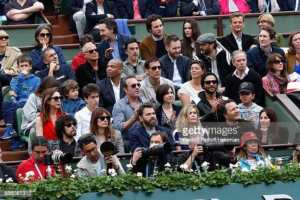 Actor Guillaume Gallienne actor Yvan Attal chef Cyril Lignac actor Clive Owen journalist Julien Arnaud Elsa Zylberstein actor Jean Dujardin Nathalie...