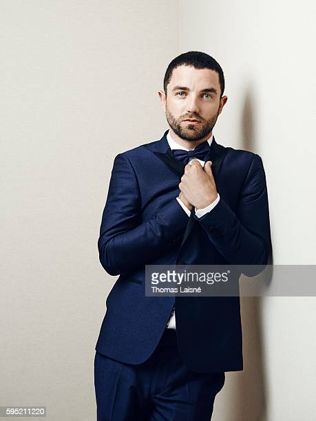 Actor Guillaume Gouix is photographed for Self Assignment on May 17 2015 in Cannes France