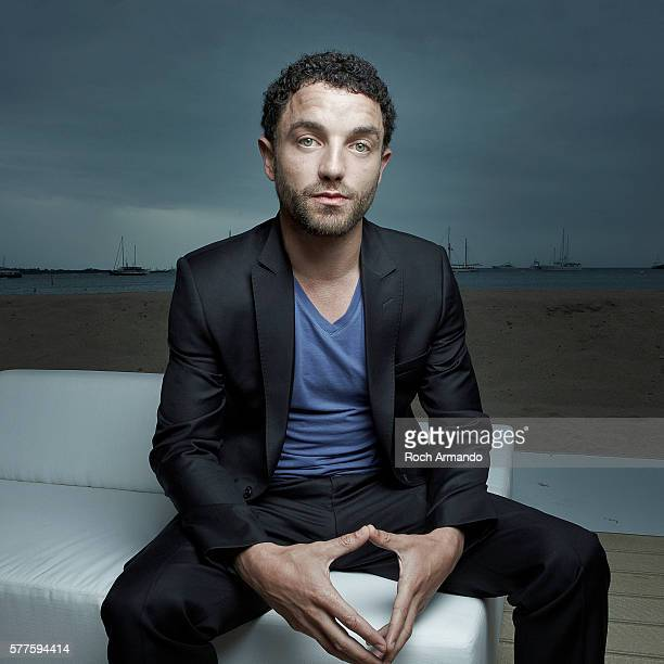 Actor Guillaume Gouix is photographed for Self Assignment on May 21 2012 in Cannes France