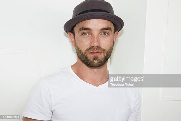 Actor Guillaume Gouix is photographed on May 19 2015 in Cannes France