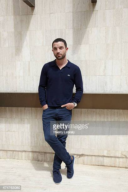 Actor Guillaume Gouix is photographed on May 21 2015 in Cannes France