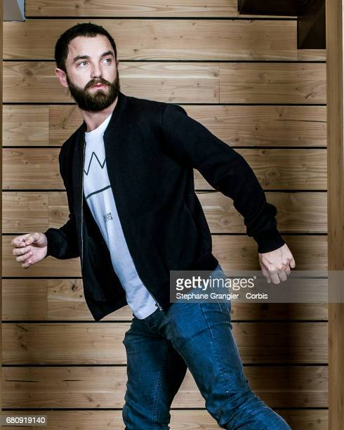 Actor Guillaume Gouix poses during a photoshoot on October 25 2016 in Paris France