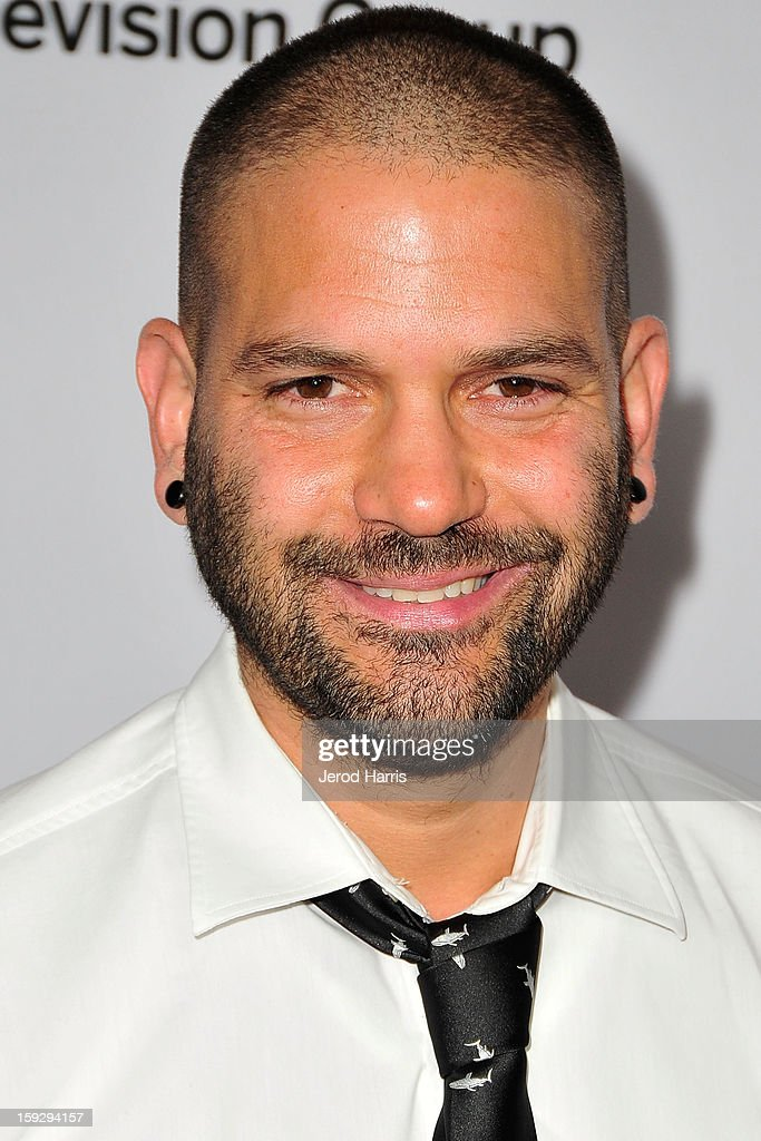 Actor Guillermo D'az arrives at Disney ABC Television's red carpet gala at the Langham Huntington Hotel and Spa on January 10, 2013 in Pasadena, California.