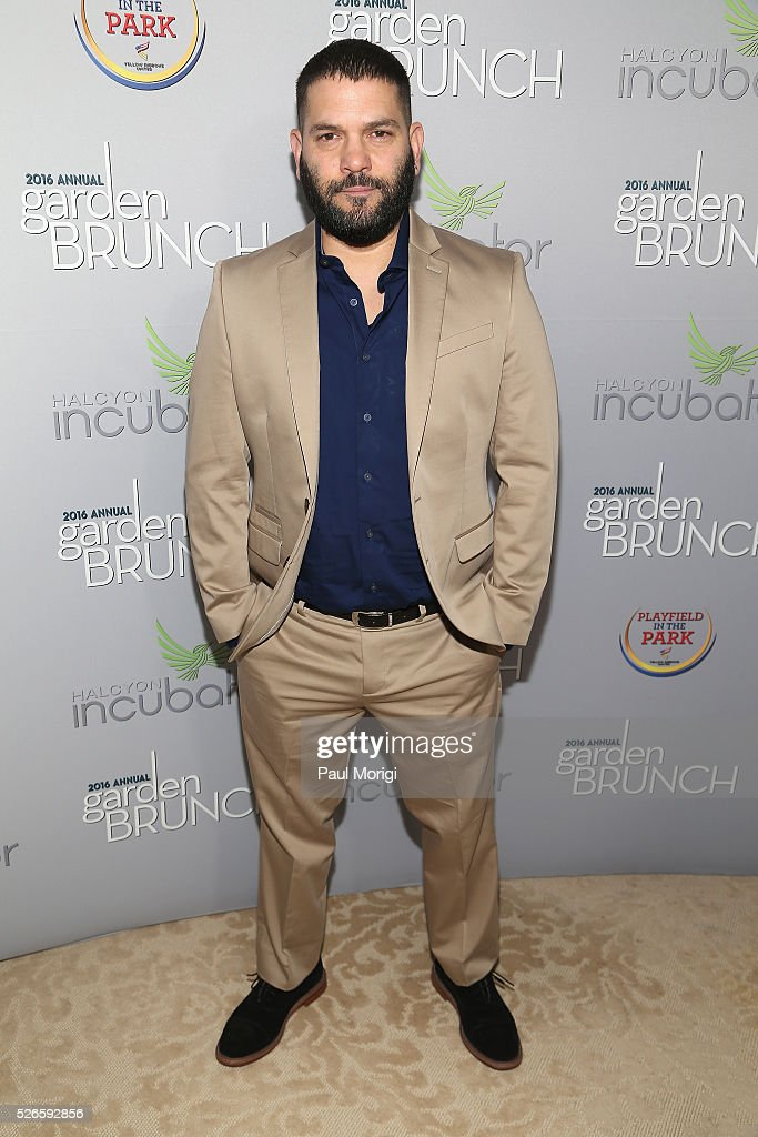 Actor Guillermo D��az attends the Garden Brunch prior to the 102nd White House Correspondents' Association Dinner at the Beall-Washington House on April 30, 2016 in Washington, DC.