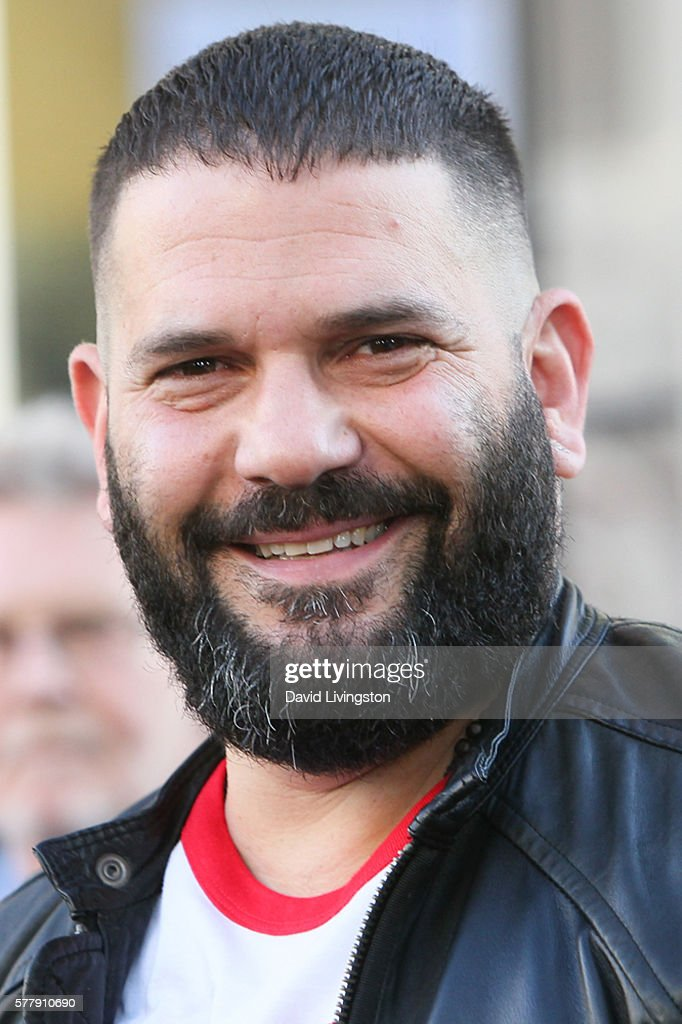 Actor Guillermo Diaz arrives at the premiere of New Line Cinema's 'Lights Out' at the TCL Chinese Theatre on July 19 2016 in Hollywood California