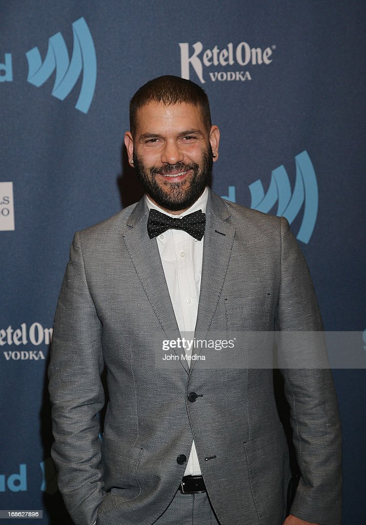 Actor <a gi-track='captionPersonalityLinkClicked' href=/galleries/search?phrase=Guillermo+Diaz+-+Actor&family=editorial&specificpeople=4603293 ng-click='$event.stopPropagation()'>Guillermo Diaz</a> attends the 24th Annual GLAAD Media Awards at the Hilton San Francisco - Union Square on May 11, 2013 in San Francisco, California.