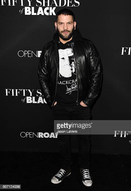 Actor Guillermo Diaz attends the premiere of 'Fifty Shades of Black' at Regal Cinemas LA Live on January 26 2016 in Los Angeles California