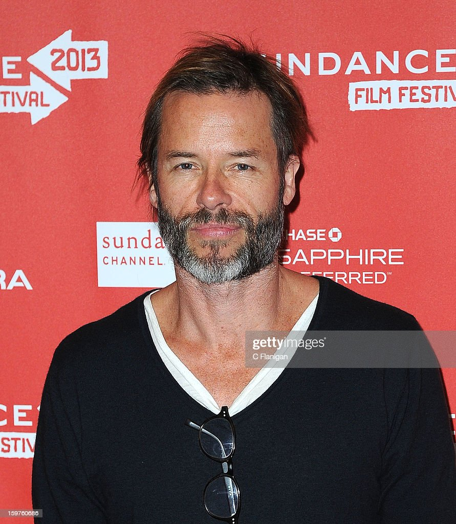 Actor <a gi-track='captionPersonalityLinkClicked' href=/galleries/search?phrase=Guy+Pearce&family=editorial&specificpeople=217261 ng-click='$event.stopPropagation()'>Guy Pearce</a> attends the 'Breathe In' premiere at Eccles Center Theatre during the 2013 Sundance Film Festival on January 19, 2013 in Park City, Utah