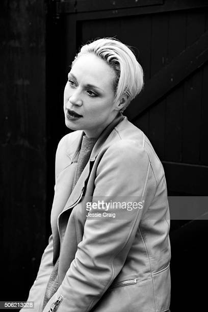 Actor Gwendoline Christie is photographed on March 1 2013 in London England