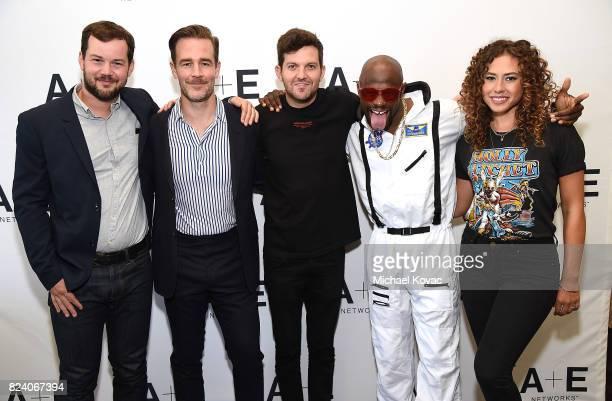 Actor H Michael Croner executive producer/actor James Van Der Beek DJ Dillon Francis actor Jamar Malachi Neighbors and actor Dora Madison of 'What...