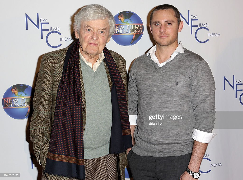 Actor <a gi-track='captionPersonalityLinkClicked' href=/galleries/search?phrase=Hal+Holbrook&family=editorial&specificpeople=227185 ng-click='$event.stopPropagation()'>Hal Holbrook</a> (L) and actor/director Derek Magyar attend the Los Angeles premiere of 'Flying Lessons' at Laemmle Monica 4-Plex on December 5, 2012 in Santa Monica, California.