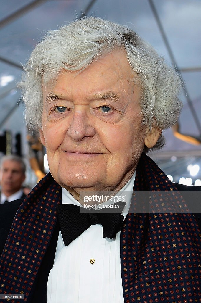 Actor <a gi-track='captionPersonalityLinkClicked' href=/galleries/search?phrase=Hal+Holbrook&family=editorial&specificpeople=227185 ng-click='$event.stopPropagation()'>Hal Holbrook</a> arrives at the 19th Annual Screen Actors Guild Awards held at The Shrine Auditorium on January 27, 2013 in Los Angeles, California.