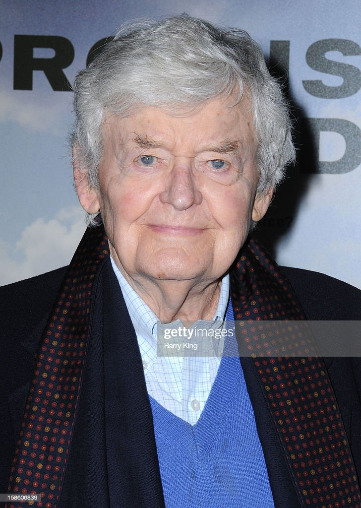 Actor Hal Holbrook arrives at the Los Angeles premiere of 'Promised Land' held at Directors Guild Of America on December 6, 2012 in Los Angeles, California.