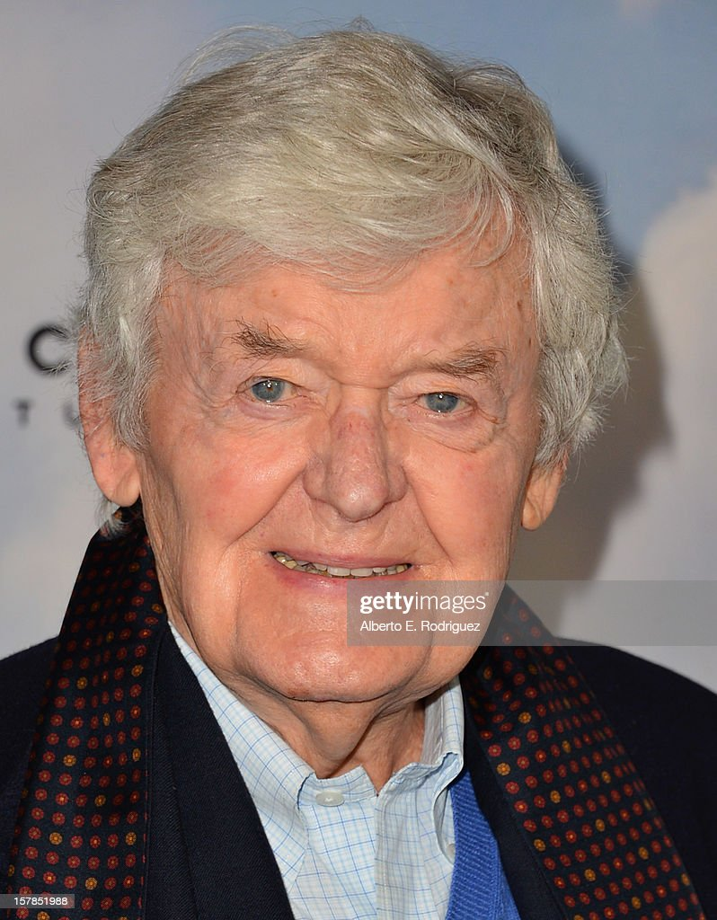 Actor Hal Holbrook arrives to the premiere of Focus Features' 'Promised Land' at the Directors Guild Of America on December 6, 2012 in Los Angeles, California.