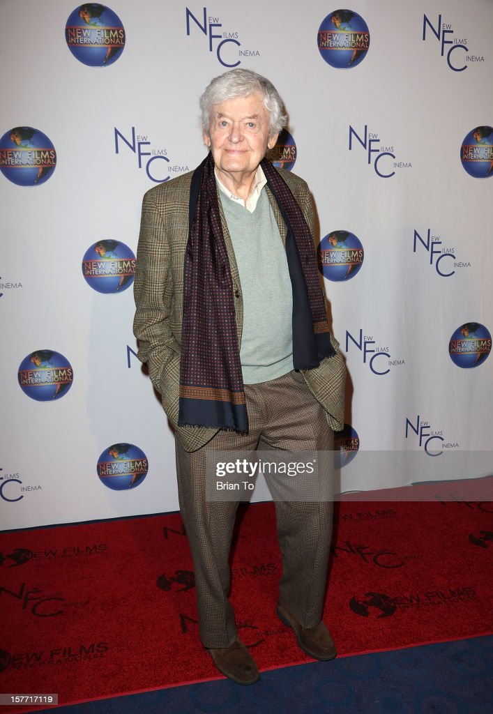 Actor Hal Holbrook attends the Los Angeles premiere of 'Flying Lessons' at Laemmle Monica 4-Plex on December 5, 2012 in Santa Monica, California.