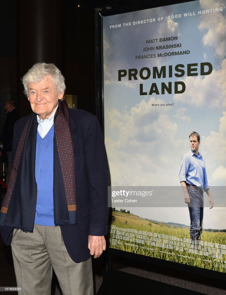 Actor Hal Holbrook attends the ''Promised Land' Los Angeles premiere at Directors Guild Of America on December 6, 2012 in Los Angeles, California.