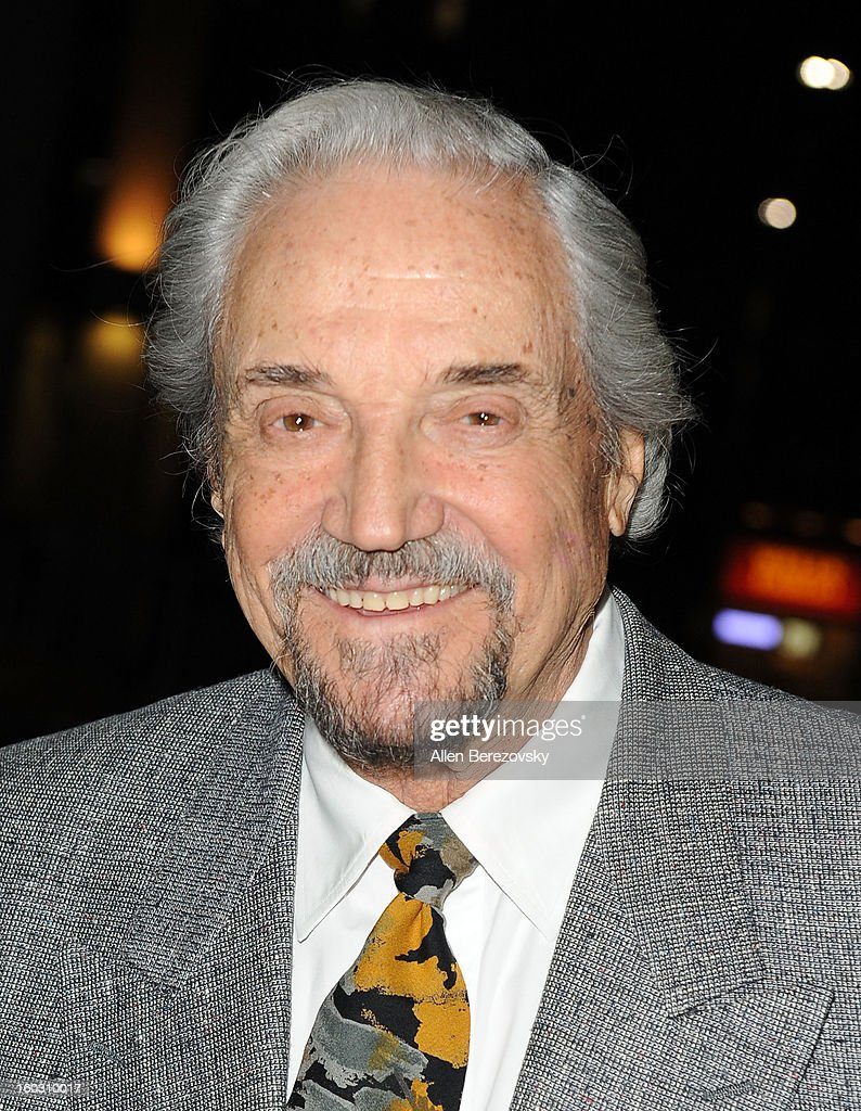 Actor <a gi-track='captionPersonalityLinkClicked' href=/galleries/search?phrase=Hal+Linden&family=editorial&specificpeople=892046 ng-click='$event.stopPropagation()'>Hal Linden</a> arrives at the 'Enter Laughing, The Musical' staged reading and benefit at Mark Taper Forum on January 28, 2013 in Los Angeles, California.