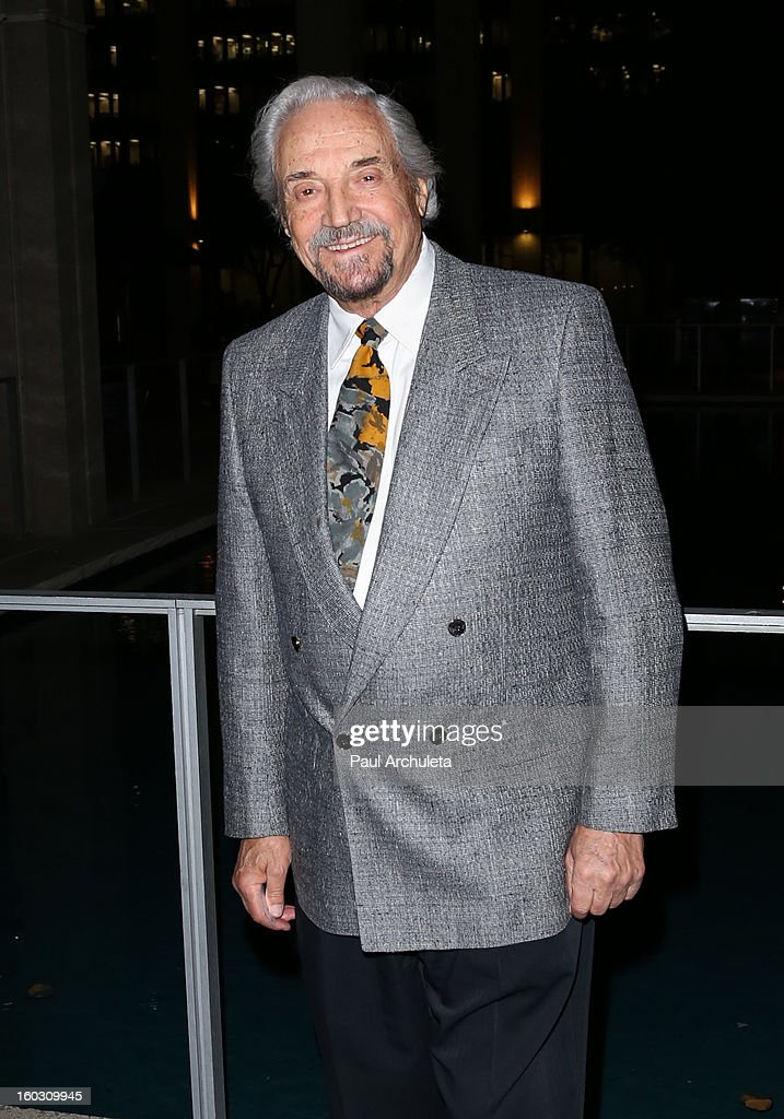 Actor <a gi-track='captionPersonalityLinkClicked' href=/galleries/search?phrase=Hal+Linden&family=editorial&specificpeople=892046 ng-click='$event.stopPropagation()'>Hal Linden</a> attends the 'Enter Laughing, The Musical' opening night at the Mark Taper Forum on January 28, 2013 in Los Angeles, California.