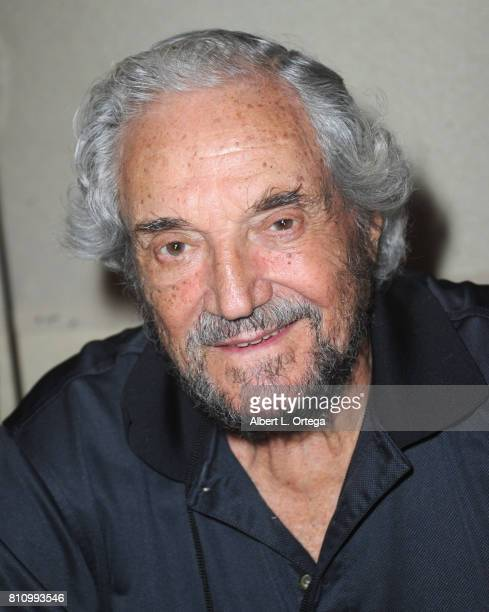 Actor Hal Linden signs autographs at The Hollywood Show held at Westin LAX Hotel on July 8 2017 in Los Angeles California