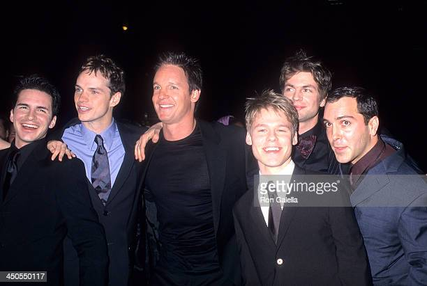 Actor Hal Sparks actor Peter Paige actor Chris Potter actor Randy Harrison actor Gale Harold and actor Scott Lowell attend the Screening of the New...