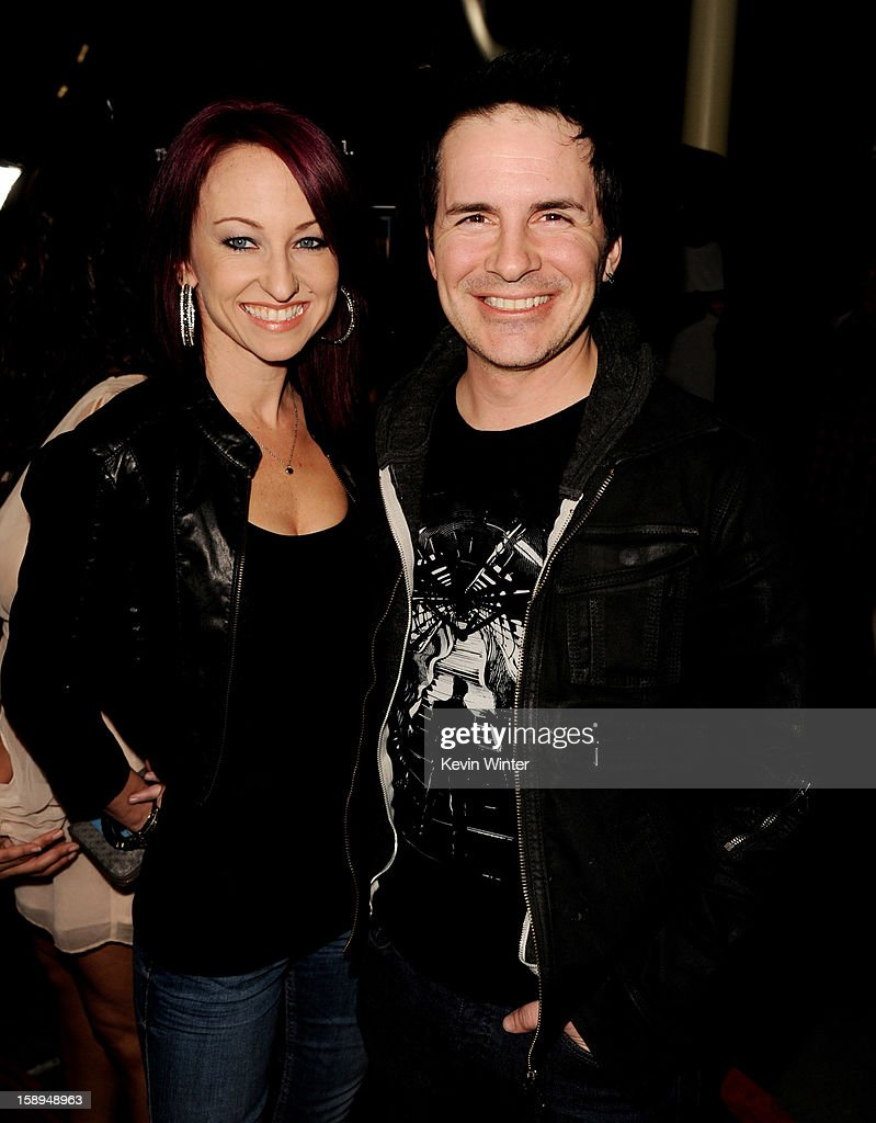Actor Hal Sparks (L) and Summer Soltis arrive at the premiere of Open Road Films' 'A Haunted House' at the Arclight Theatre on January 3, 2013 in Los Angeles, California.