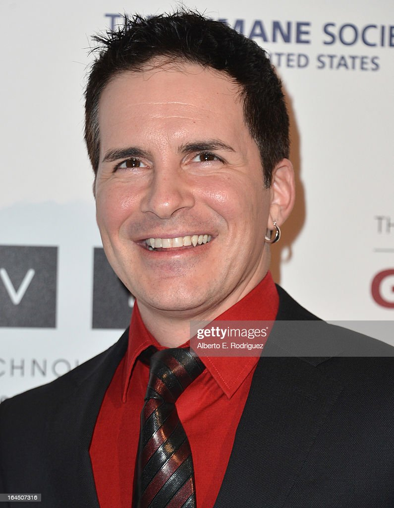 Actor <a gi-track='captionPersonalityLinkClicked' href=/galleries/search?phrase=Hal+Sparks&family=editorial&specificpeople=213158 ng-click='$event.stopPropagation()'>Hal Sparks</a> arrives to the 2013 Genesis Awards Benefit Gala at The Beverly Hilton Hotel on March 23, 2013 in Beverly Hills, California.