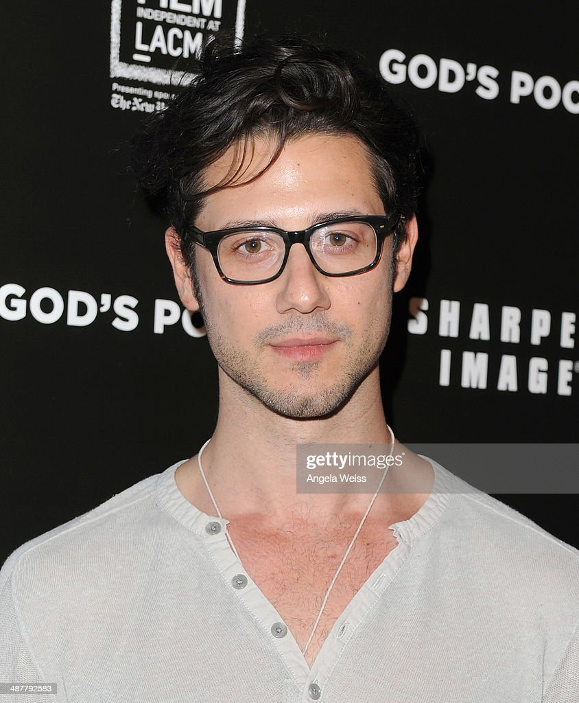 Actor Hale Appleman arrives at the premiere of IFC Films 'God's Pocket' at LACMA on May 1, 2014 in Los Angeles, California.