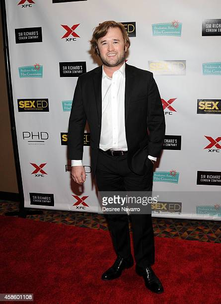 Actor Haley Joel Osment attends 'Sex Ed' New York Premiere at AMC Empire 25 theater on November 7 2014 in New York City