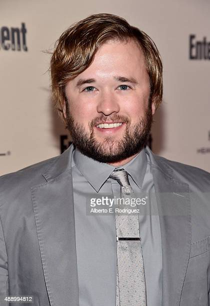 Actor Haley Joel Osment attends the 2015 Entertainment Weekly PreEmmy Party at Fig Olive Melrose Place on September 18 2015 in West Hollywood...