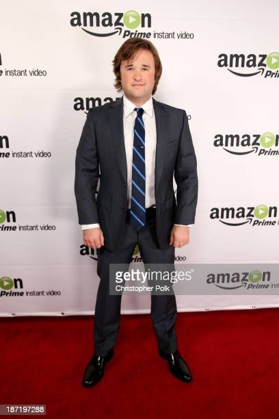 Actor Haley Joel Osment attends the Amazon Studios Launch Party to celebrate the premieres of their 1st original series' 'Alpha House' and 'Betas' at...