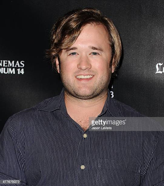 Actor Haley Joel Osment attends the closing night live read of 'Fast Times At Ridgemont High' at the 2015 Los Angeles Film Festival at Regal Cinemas...