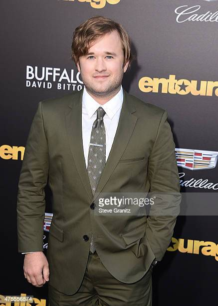 Actor Haley Joel Osment attends the 'Entourage' Los Angeles premiere at Regency Village Theatre on June 1 2015 in Westwood California