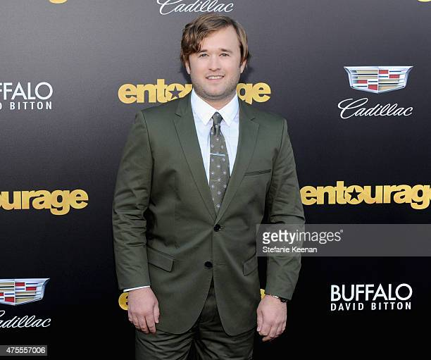 Actor Haley Joel Osment attends the premiere of ENTOURAGE sponsored by Buffalo David Bitton at the Regency Village Theatre on June 1 2015 in Westwood...