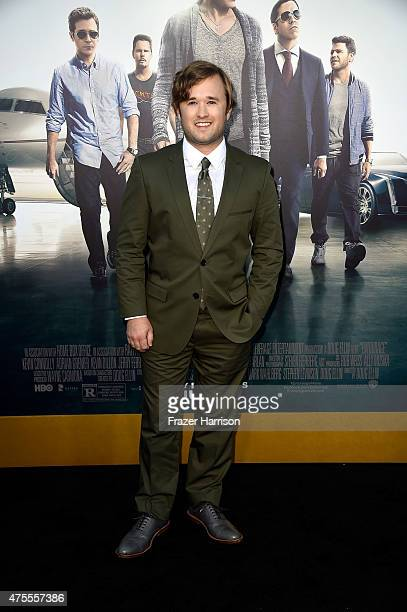 Actor Haley Joel Osment attends the premiere of Warner Bros Pictures' 'Entourage' at Regency Village Theatre on June 1 2015 in Westwood California