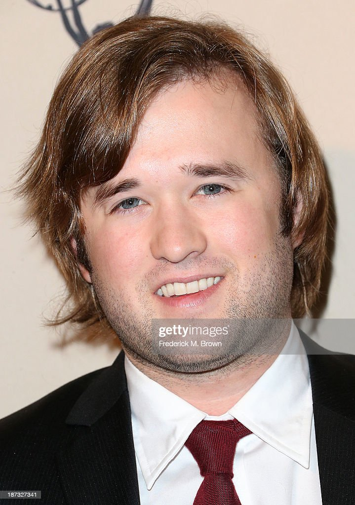 Actor <a gi-track='captionPersonalityLinkClicked' href=/galleries/search?phrase=Haley+Joel+Osment&family=editorial&specificpeople=234648 ng-click='$event.stopPropagation()'>Haley Joel Osment</a> attends The Television Academy Presents an Evening with Amazon Studios at the Leonard H. Goldenson Theatre on November 7, 2013 in North Hollywood, California.