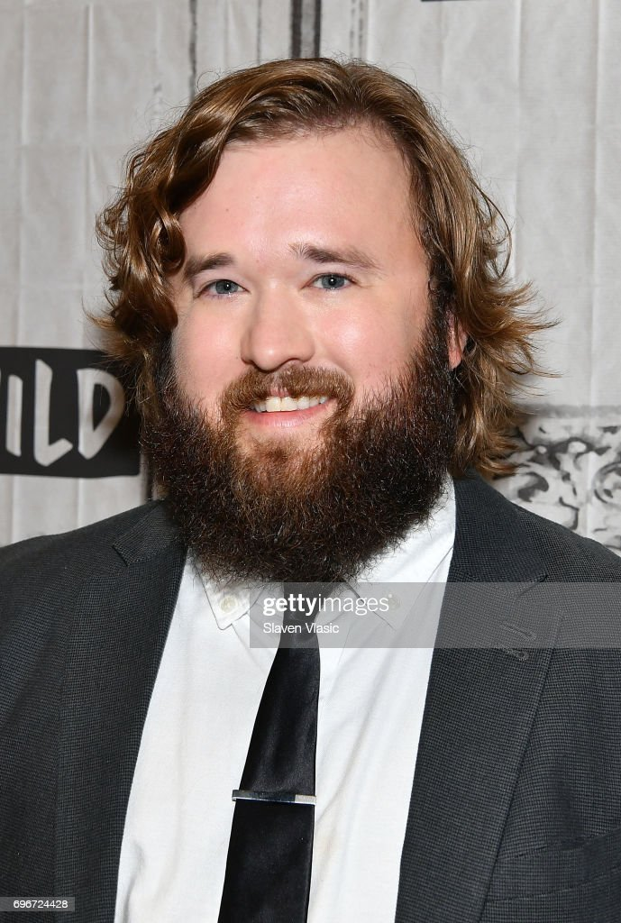 Haley Joel Osment - baby face, fake beard