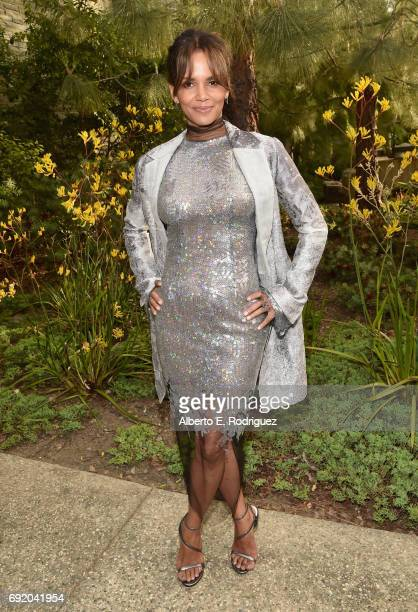 Actor Halle Berry at the 16th Annual Chrysalis Butterfly Ball on June 3 2017 in Los Angeles California
