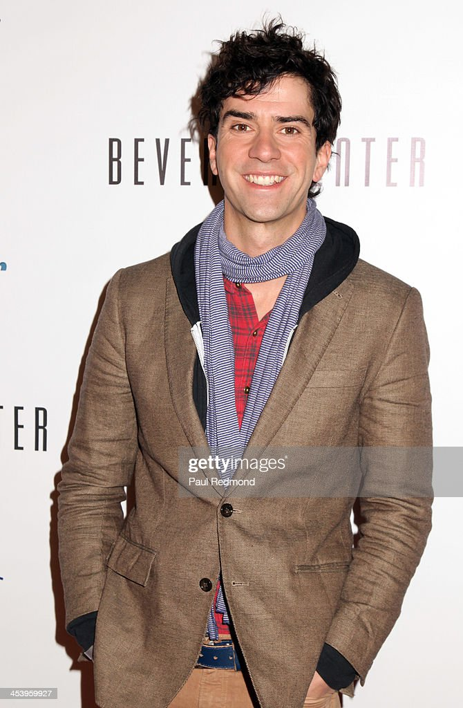 Actor <a gi-track='captionPersonalityLinkClicked' href=/galleries/search?phrase=Hamish+Linklater&family=editorial&specificpeople=646154 ng-click='$event.stopPropagation()'>Hamish Linklater</a> arrives at 'Tie The Knot' Store Grand Opening with founder Jesse Tyler Ferguson at The Beverly Center on December 5, 2013 in Los Angeles, California.
