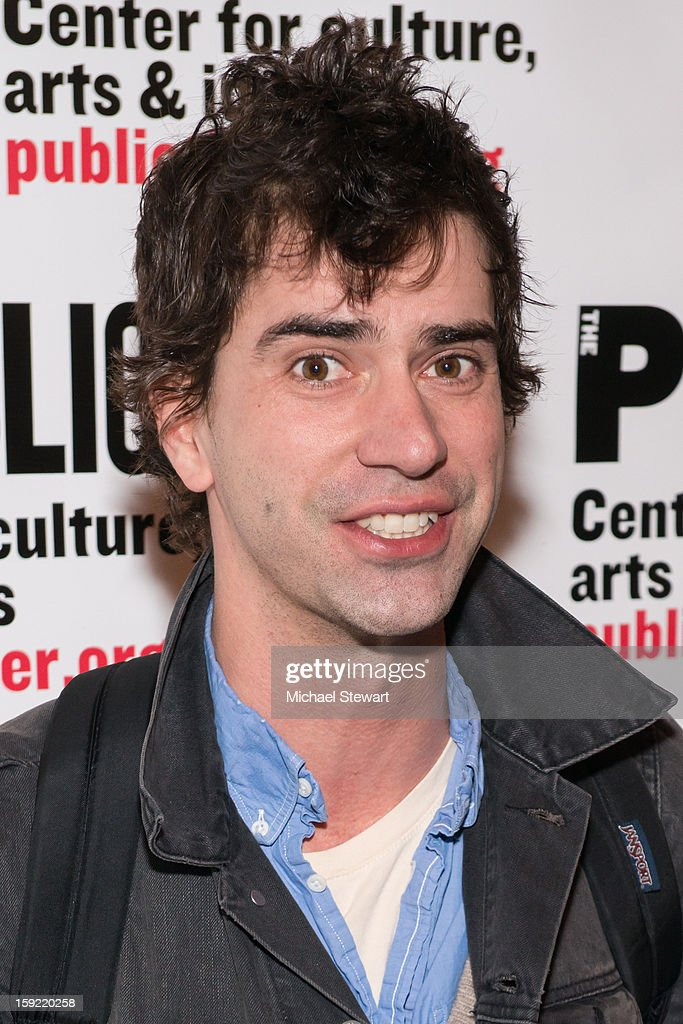 Actor <a gi-track='captionPersonalityLinkClicked' href=/galleries/search?phrase=Hamish+Linklater&family=editorial&specificpeople=646154 ng-click='$event.stopPropagation()'>Hamish Linklater</a> attends the Under The Radar Festival 2013 Opening Night Celebration at The Public Theater on January 9, 2013 in New York City.