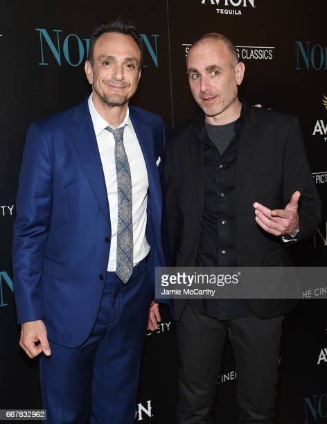 Actor Hank Azaria and Director Joseph Cedar attend a screening of Sony Pictures Classics' 'Norman' hosted by The Cinema Society at the Whitby Hotel...