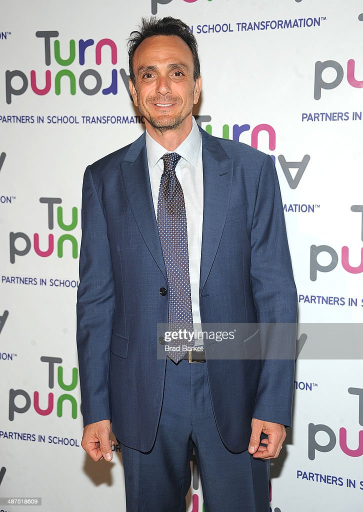 Actor <a gi-track='captionPersonalityLinkClicked' href=/galleries/search?phrase=Hank+Azaria&family=editorial&specificpeople=204150 ng-click='$event.stopPropagation()'>Hank Azaria</a> attend the Turnaround For Children's 5th Annual Impact Awards Dinner at Cipriani 42nd Street on April 30, 2014 in New York City.