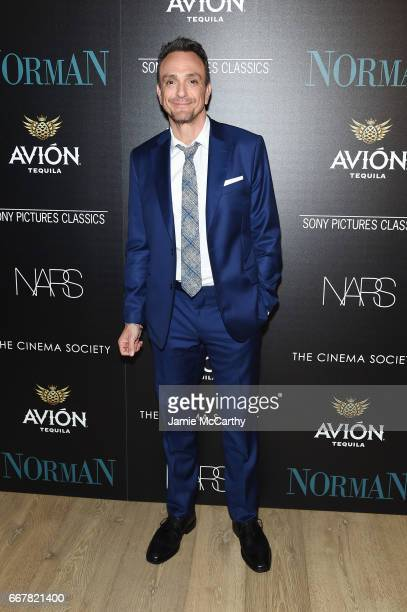 Actor Hank Azaria attends a screening of Sony Pictures Classics' 'Norman' hosted by The Cinema Society at the Whitby Hotel on April 12 2017 in New...