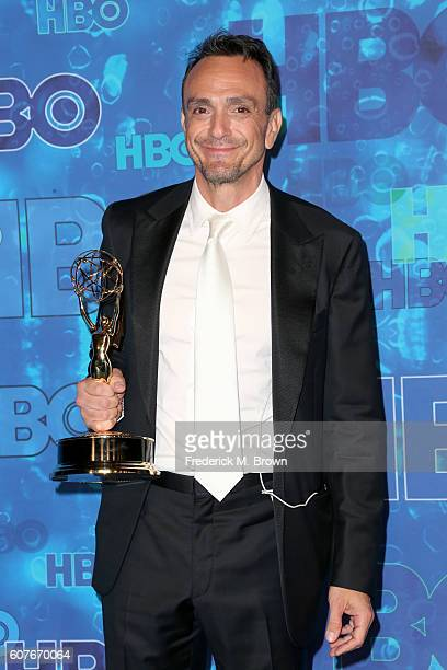 Actor Hank Azaria attends HBO's Official 2016 Emmy After Party at The Plaza at the Pacific Design Center on September 18 2016 in Los Angeles...