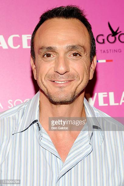 Actor Hank Azaria attends The Cinema Society and MCM with Grey Goose host a screening of Radius TWC's 'Lovelace' at The Museum of Modern Art on July...