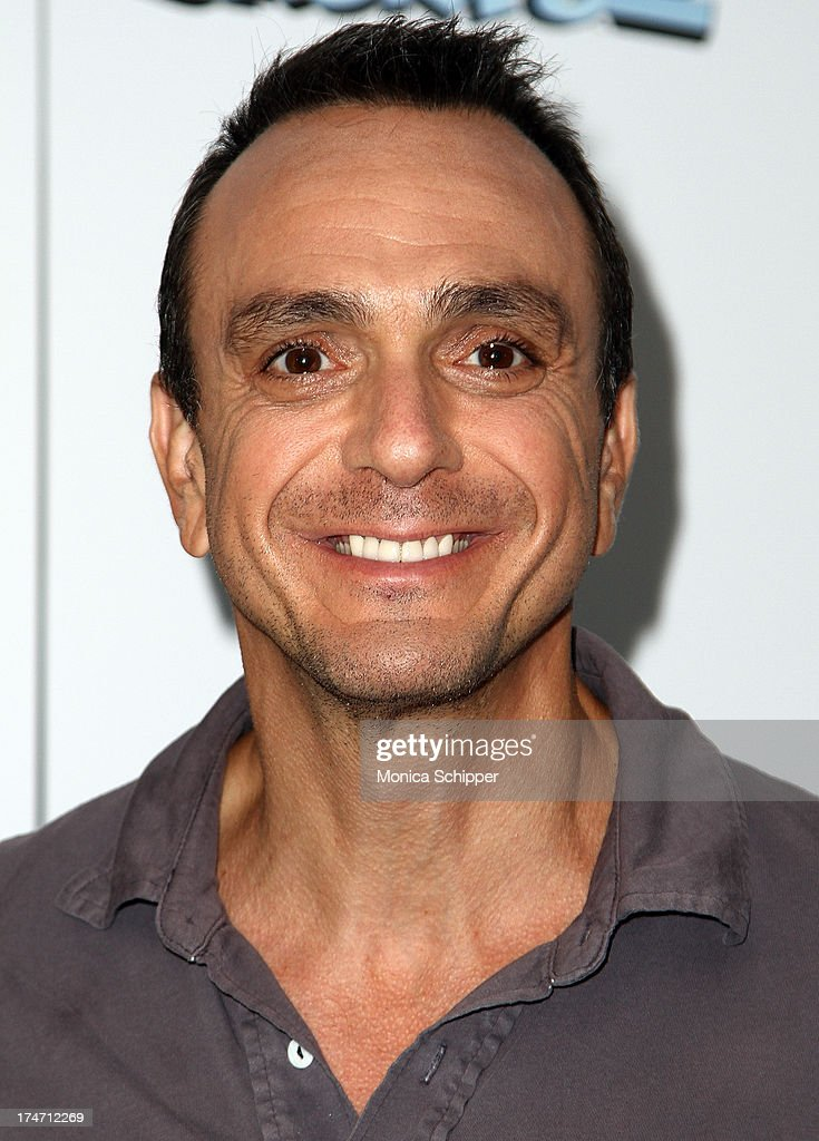 Actor <a gi-track='captionPersonalityLinkClicked' href=/galleries/search?phrase=Hank+Azaria&family=editorial&specificpeople=204150 ng-click='$event.stopPropagation()'>Hank Azaria</a> attends 'The Smurfs 2' New York Blue Carpet Screening at Lighthouse International Theater on July 28, 2013 in New York City.