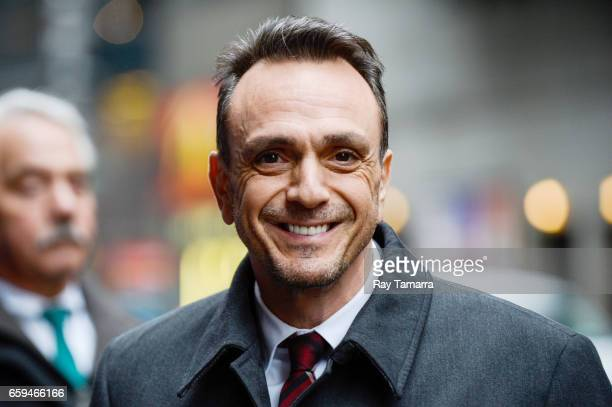 Actor Hank Azaria enters the 'The Late Show With Stephen Colbert' taping at the Ed Sullivan Theater on March 28 2017 in New York City