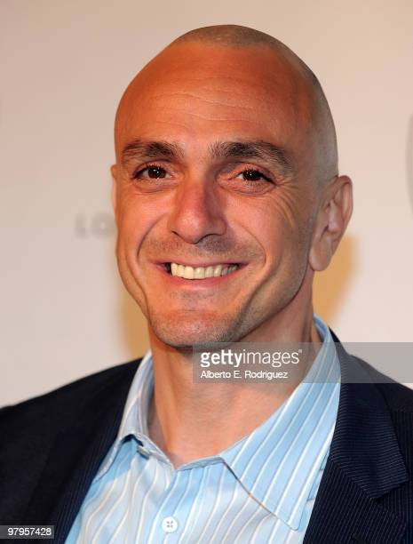 Actor Hank Azaria poses on the red carpet at the Geffen Playhouse's Annual Backstage at the Geffen Gala on March 22 2010 in Los Angeles California