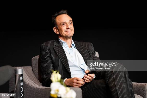 Actor Hank Azaria speaks onstage during the FYC event for IFC's 'Brockmire' and 'Documentary Now' at Saban Media Center on May 31 2017 in North...