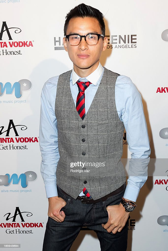 Actor Hank Chen attends Fred and Jason's 8th Annual 'Halloweenie' Holiday Concert By The Gay Men's Chorus of Los Angeles at Los Angeles Theatre on October 25, 2013 in Los Angeles, California.